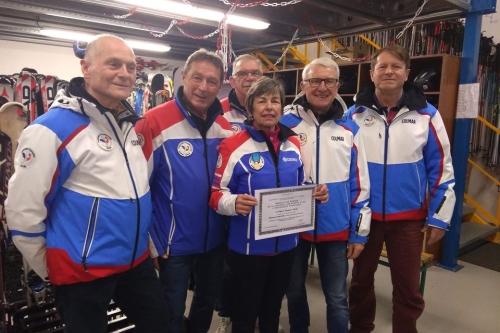 Médaille de Bronze Jeunesse et Sport - Andrée Bugli